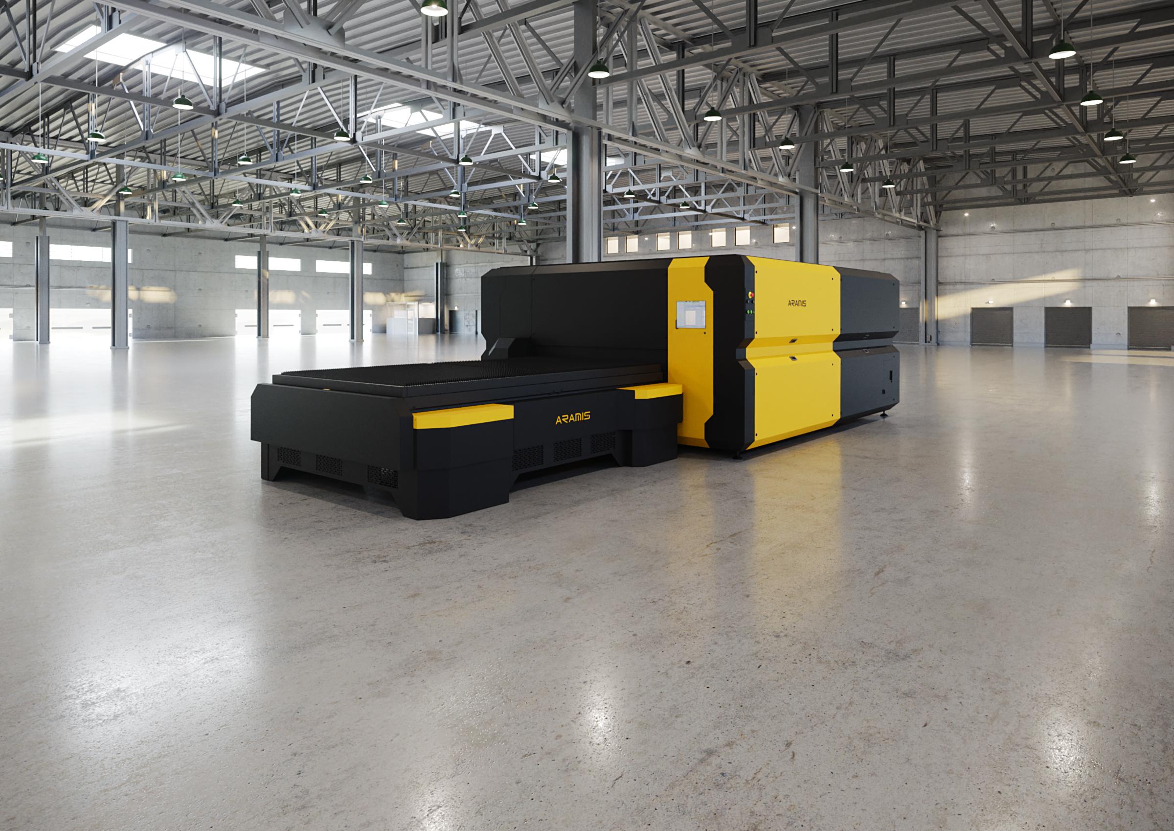 Внешний вид лазерного технологического комплекса серии AFX-PRO