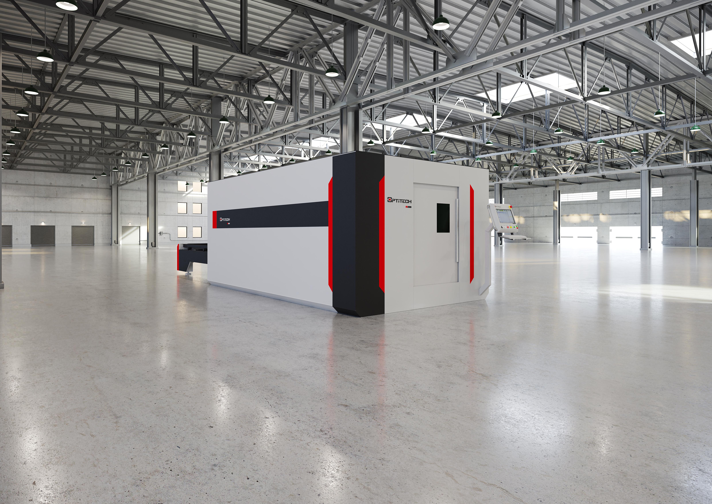 Двухпаллетный комплекс лазерного раскроя OptiTech FD