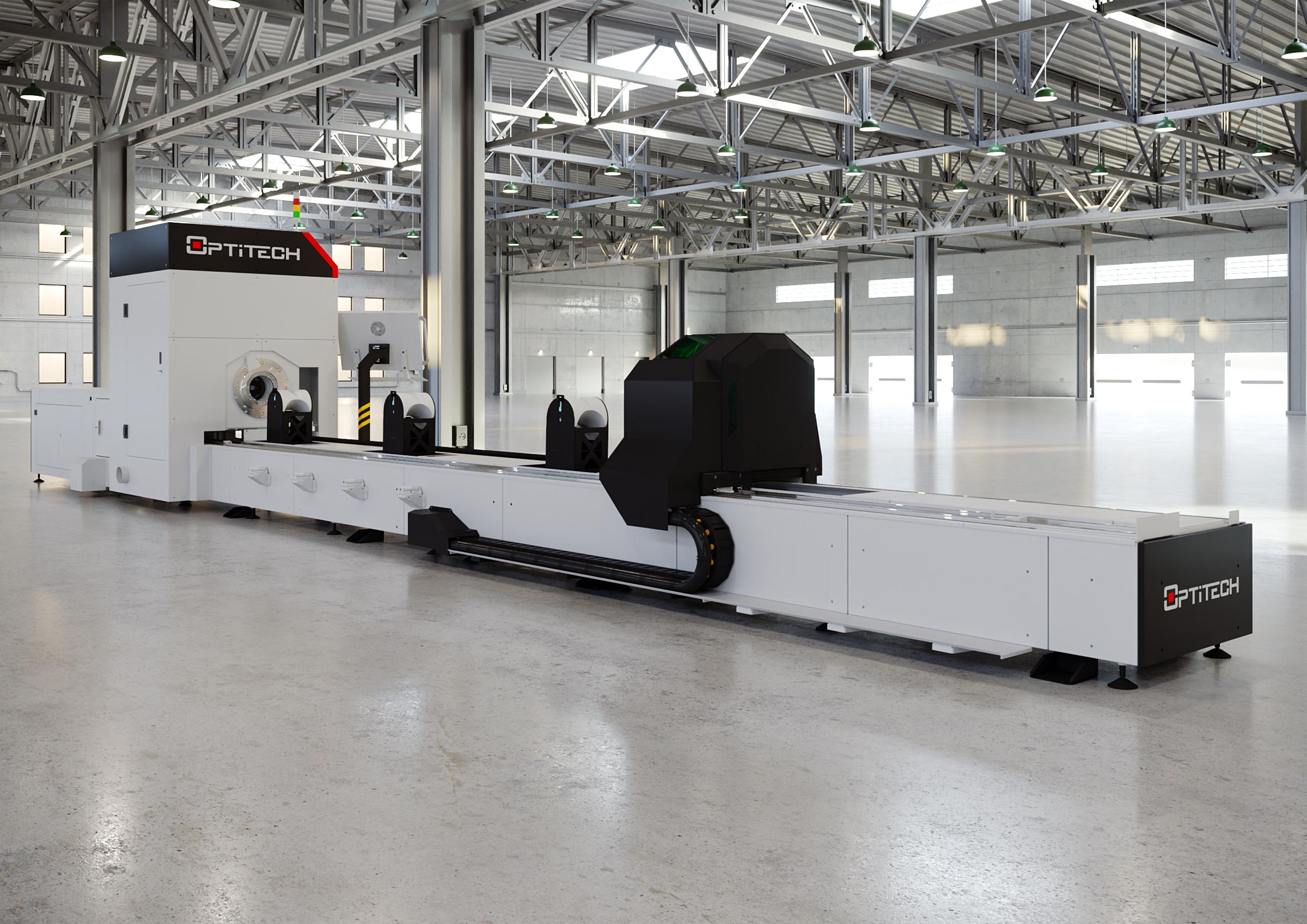Комплекс лазерного раскроя труб OptiTech FT